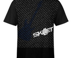 Camiseta masculina Skillet Estampa digital md02