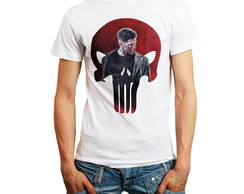 Camiseta Justiceiro Camisa The Punisher Roupa Masculina