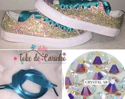 All Star Personalizado Cristal Luxo
