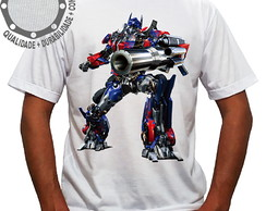 Camiseta Transformers Optimus Prime Attack ah00154