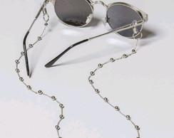 Correntinha Salva Oculos de Bolinha   Elo7 04af88383a