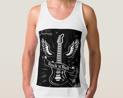 Camiseta Regata Rock N Roll