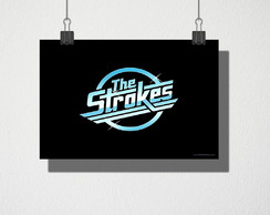 Poster A4 The Strokes