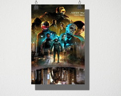 Poster A4 Seriado Arrow