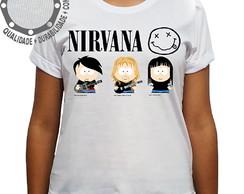 Camiseta Metallica Banda South Park no Elo7 | Camisetas P4 (E0808B)