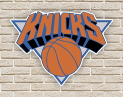 Quadro Decorativo New York Knicks Nba Basquete