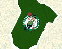 Body Infantil Bebê Boston Celtics NBA B128VD