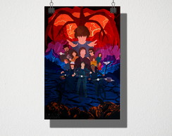 Poster A4 stranger things