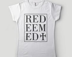 69779b3044 ... camisa evangelica feminina redeemed redencao branca