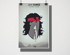 Poster A4 Rambo