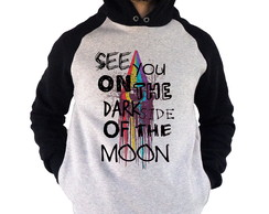 Moletom Blusa Raglan Pink Floyd Dark Side Roger Waters Rock