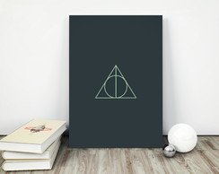 Placa decorativa 15x20cm Harry Potter