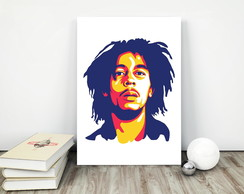 Placa decorativa 15x20cm Bob Marley