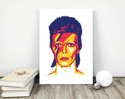 Placa decorativa 15x20cm David Bowie