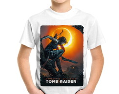 Camiseta Infantil Shadow of the Tomb Raider
