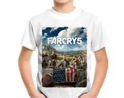 Camiseta Infantil Far Cry 5