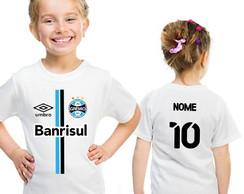 44a366cf4e ... Camiseta Gremio Infantil Feminina