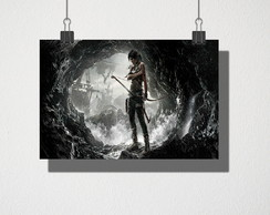 Poster A4 rise of the tomb raider