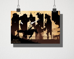 Poster A4 shadow of the colossus