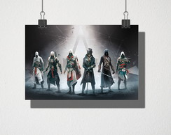 Poster A4 assassin's creed