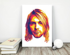 Placa decorativa 15x20cm Kurt Cobain