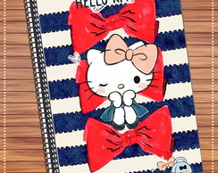 Capa adesiva caderno Hello Kitty