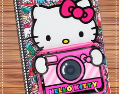 Capa caderno Hello Kitty