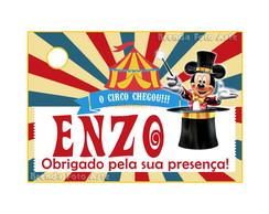 Tag Circo do Mickey Mouse
