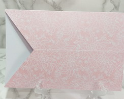 Envelope Renda Rosa