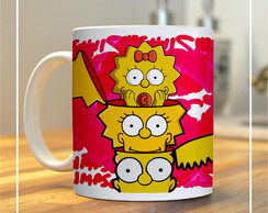 Caneca Temática - The Simpsons