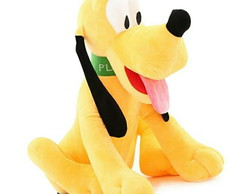 Pluto Da Turma Do Mickey Pelucia Musical 22cm