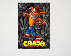 Poster A4 crash bandicoot