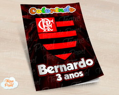 Revista colorir Flamengo