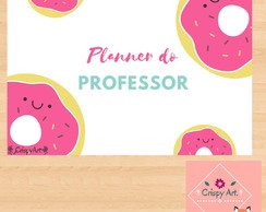 Planner do Professor - Donuts