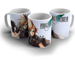 Caneca Final Fantasy VII - Cloud