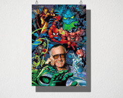 Poster A4 Stan Lee