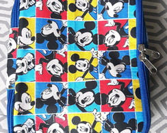 Estojo 100 Pens Escolar Mickey