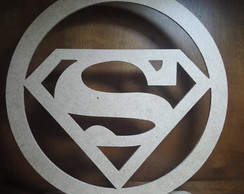Slogan Super Man mdf