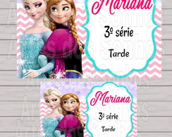 Kit Etiquetas Escolar - Frozen