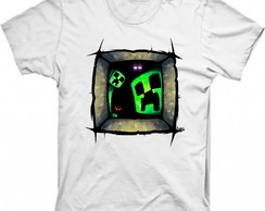 Camiseta Personalizada Minecraft Creeper 1