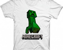 Camiseta Personalizada Minecraft Creeper 2