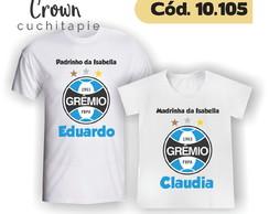 8a02c2cfb3 ... 2 Camisetas - Padrinhos Gremistas + Nome