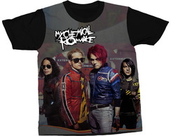 Camiseta My Chemical Romance Música Camisa Estampada