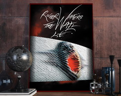 Placa Decorativa - Músicas - Roger Waters - The Wall A4