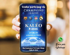 CONVITE WHATSAPP CHAMPIONS LEAGUE - ARQUIVO DIGITAL