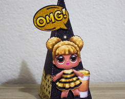 Cone Pirâmide Queen Bee Lol