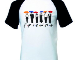 Camiseta Raglan Friends