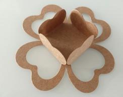 ... 200 Embalagens de forminhas formato coração em Kraft a0a11e9ea969f