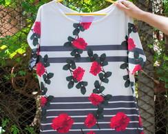 d05ff67d82 Vestido Floral âncoras Flores - Roupa Feminina - M no Elo7