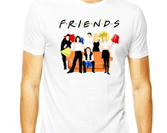 Camiseta Friends Amigos Rachel Joey Friends Masculina Ross